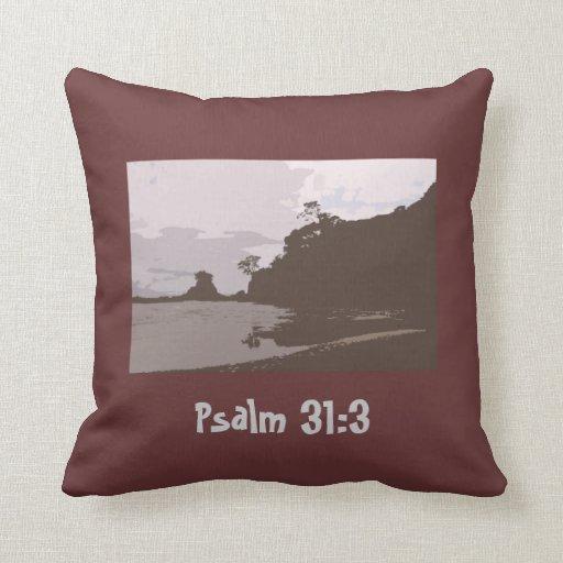 La ventaja y me dirige - 31:3 del salmo cojines