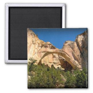 La Ventana Arch, New Mexico 2 Inch Square Magnet