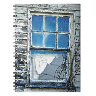 La ventana azul note book