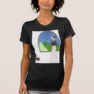 La ventana de Jane Austen Camisetas