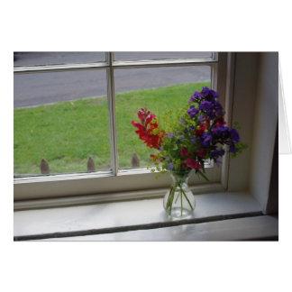 La ventana de Jane Austen Tarjeta Pequeña