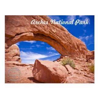 La ventana del norte del parque nacional de los tarjetas postales