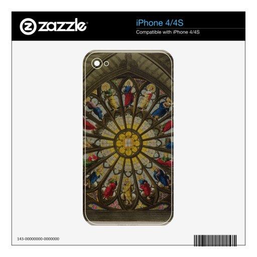 La ventana del norte, placa D de 'Westminster Abbe Skins Para iPhone 4S