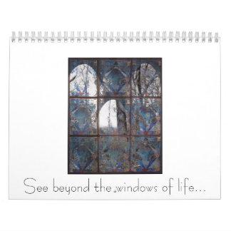 La ventana, ve más allá de las ventanas de la calendario