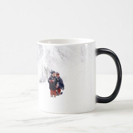 La ventisca de los niños taza