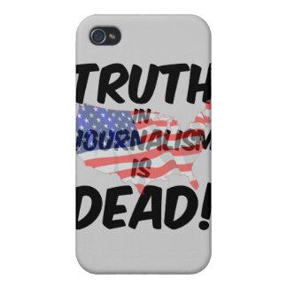 la verdad en periodismo es muerta iPhone 4/4S fundas