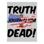 la verdad en periodismo es muerta postal