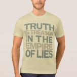 La verdad es camisa de la traición