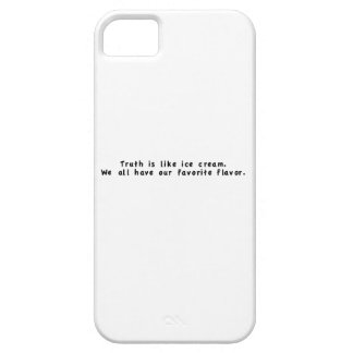 La verdad es como el helado iPhone 5 Case-Mate cárcasa