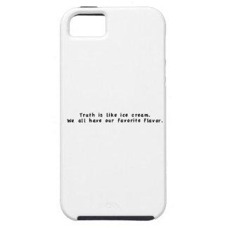 La verdad es como el helado iPhone 5 Case-Mate cobertura