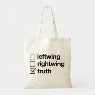 La verdad es el bolso de la respuesta bolsa tela barata