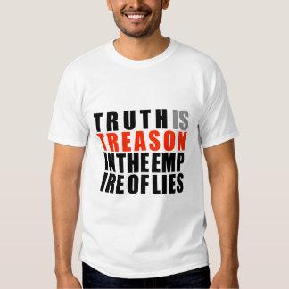 La verdad es traición en el imperio de mentiras playeras
