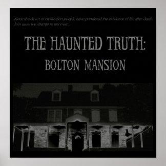 La verdad frecuentada: Poster de la mansión de Bol Póster