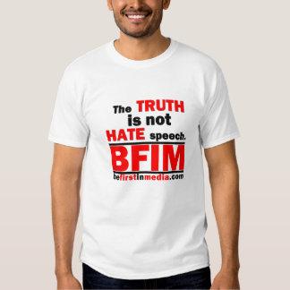 La verdad no es discurso de odio playera