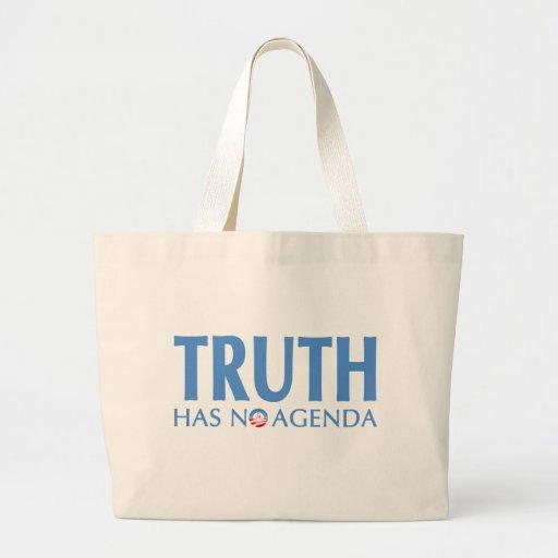 La verdad no tiene ningún orden del día bolsa