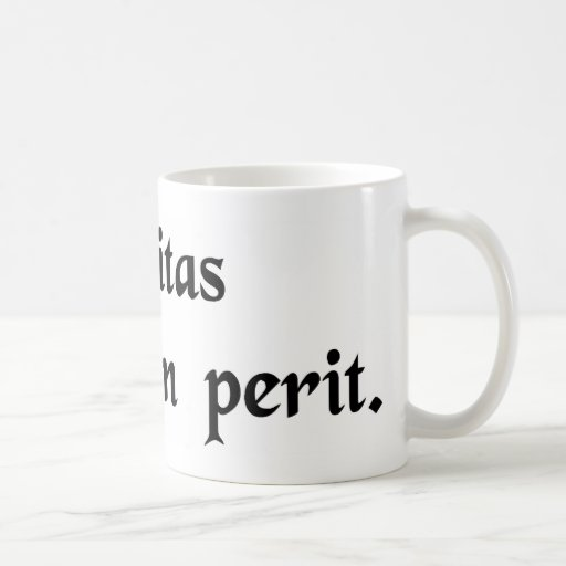 La verdad nunca fallece tazas de café