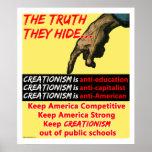 La verdad ocultan el poster