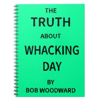 La verdad sobre día Whacking de Bob Woodward Cuadernos