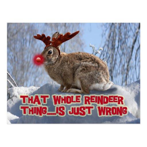 La verdad sobre Rudolph Tarjetas Postales
