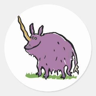 la verdad sobre unicornios etiquetas