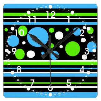 La verde lima de las azules turquesas del trullo r relojes