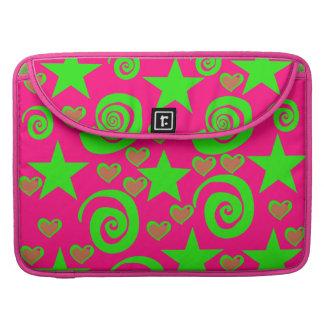 La verde lima femenina de las rosas fuertes protag fundas para macbook pro