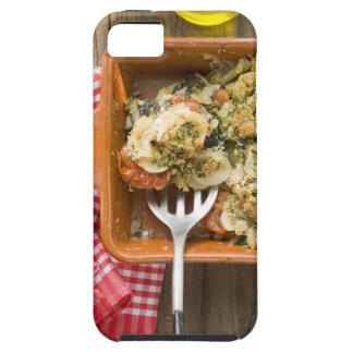 La verdura cuece con las patatas, tomates, puerros iPhone 5 coberturas