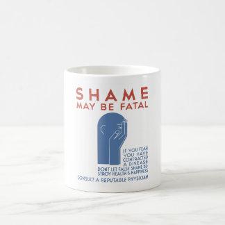 La vergüenza puede ser fatal -- WPA Taza