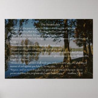 La versión 2 de las beatitudes posters