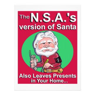 La versión de N.S.A. de Santa Tarjetones