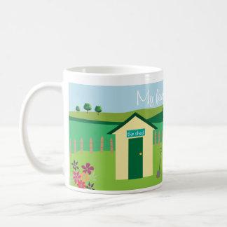 La vertiente - los jardineros asaltan mi escape p taza de café