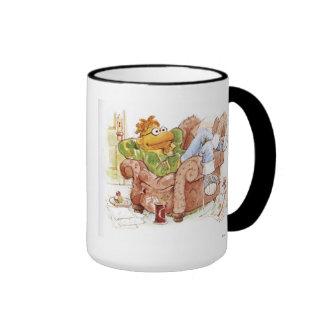 La vespa de los Muppets en la silla Disney Taza De Dos Colores