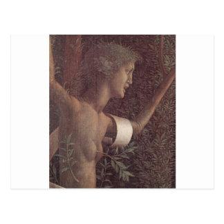 La victoria de la virtud de Andrea Mantegna Postal