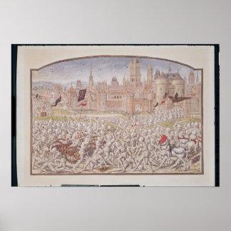 La victoria de los habitantes de Gante llevó cerca Póster
