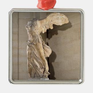 La victoria de Samothrace Ornamentos De Navidad