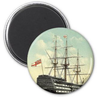 La victoria el buque insignia de Nelson popa Imanes Para Frigoríficos