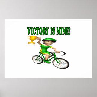 La victoria es la mía posters