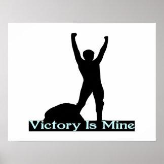 La victoria es la mía póster
