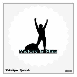 La victoria es la mía vinilo adhesivo