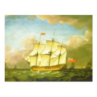 La victoria que deja el canal en 1793 por Swaine Tarjetas Postales