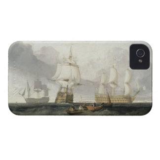"La ""victoria"" que vuelve de Trafalgar, 1806 Case-Mate iPhone 4 Carcasa"