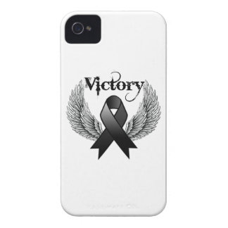 La victoria se va volando el melanoma iPhone 4 Case-Mate funda