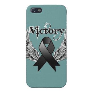 La victoria se va volando el melanoma iPhone 5 carcasa