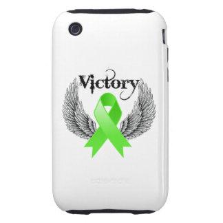 La victoria se va volando linfoma tough iPhone 3 protectores
