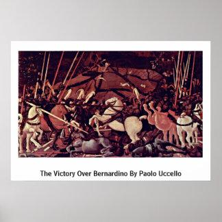 La victoria sobre Bernardino de Paolo Uccello Póster
