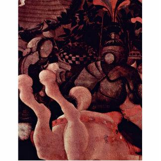 La victoria sobre el detalle de Bernardino Della C Escultura Fotografica