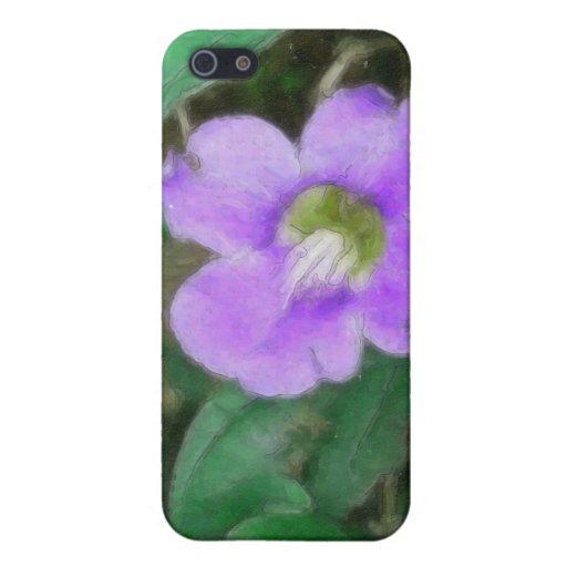 La vid bonita florece 1 acuarela iPhone 5 coberturas
