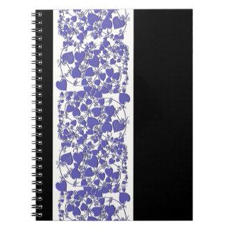 La vid sale del cuaderno botánico de la hoja