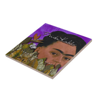 La Vida 2 de Frida Kahlo Pasion Por Teja Cerámica