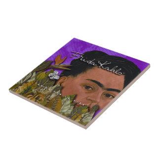 La Vida 2 de Frida Kahlo Pasion Por Azulejo Cuadrado Pequeño